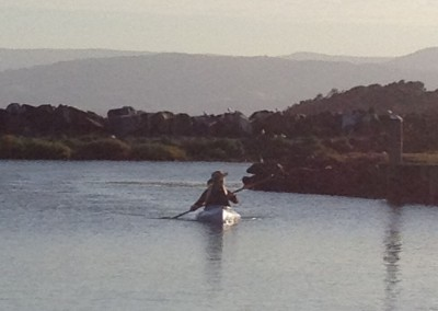 LB Scrapbook 2 - Evening Paddle