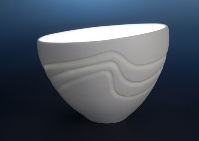 Large Thrown Bowl Surf's Up_230x360. 2014